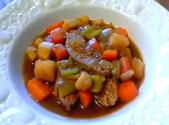 Beef Chuck Pot Roast With Winter Veggies